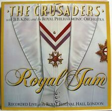CRUSADERS With B.B. KING - ROYAL JAM - Double LP Nuovo Unplayed