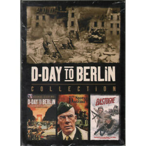 D-Day to Berlin Collection Box 3 DVD W William A Robert S George Sigillato