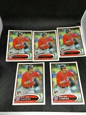 2012 TOPPS UPDATE BRYCE HARPER ROOKIE/RC #US183 (LOT=5) FREE SHIPPING!!!!!!
