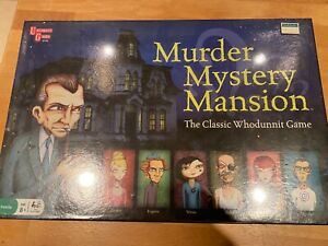 Murder Mystery Mansion Board Game - The Classic Whodunnit Game