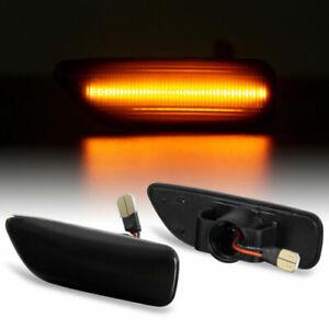 LED Indicators Black For Volvo S60 S80 V70 XC70 XC90 71314-1