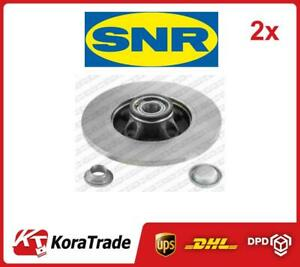 2x OE QUALITY BRAKE DISC SET KF15960U SNR P