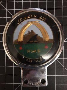 RWS Car Badge