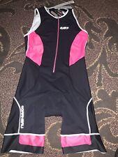 Nwt Louis Garneau Cycling Pro Light Power Delfino Carbon X-mesh Tri Suit Sz Xl