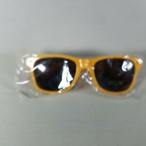 Green Bay Packers Sunglasses Yellow Ticket Holder Fan Gift New Open Plastic