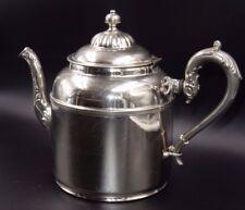 MANNING BOWMAN & Co SILVER PLATE COFFEE, TEA POT ~ PAT: JAN 24, 1899