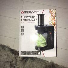Bnwt Ambiano electric Food spiralizer