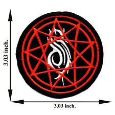 Slipknot Rock Music Band Applique Iron on Patch Sew For T-shirt Jeans Cap Hat