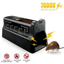 Electronic Mouse Mice Rat Zapper Rodent Trap Killer Victor Control UK Plug 1 Set