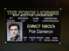 Star Wars the Force - Poe Dameron fake Id i.d. card Drivers License