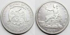 USA ESTADOS UNIDOS 1877 TRADE COMERCIAL 1 DOLLAR MONEDA PLATA MBC+