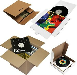 """STRONG 12"""" 7"""" LP SINGLE RECORD VINYL MAILERS BOXES SHIPPING STORAGE PACKAGING"""
