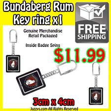 Bundaberg Rum Spinner Metal Key ring
