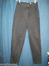 Levis Jeans 900 Series Black Size 12 100% Cotton Inseam 32 Waist 30