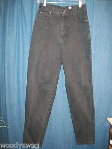 Levis Jeans 900 Series Black Size 12 100% Cotton Inseam 32 Waist 30