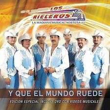 Rieleros Del Norte : Y Que El Mundo Ruede CD