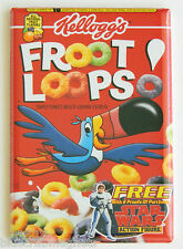 Froot Loops FRIDGE MAGNET (2.5 x 3.5 inches) cereal box toucan sam fruit