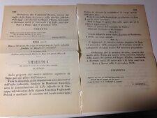 Regi Decreti 8/12/1878Statuto Mutuo Soccorso Milano;Asilo infantile Randazzo-560