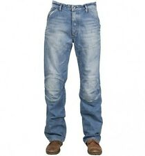 "G-Star Raw Mens 5620 3D Loose Jeans 28"" x 32"" BNWT Wheel Denim Medium Aged s m"