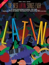 The Best Latin Songs Ever 3rd Edition Sheet Music Piano Vocal Guitar S 000310355