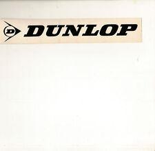 Dunlop Adesivo Piccolo Nero lucidità 20cm