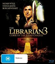 The Librarian 03 - The Curse of the Judas Chalice (Blu-ray, 2009) Brand New, D41