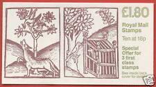 FU6b Linnean Society RM £1.80 Folded Booklet