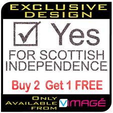 Vote Yes for Scottish Independence Scotland vinyl decal sticker window car van