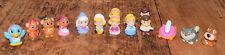 Squinkies Disney Princess Cinderella Prince Mice Dog Cat 14 Mini Figures Toys