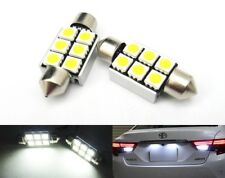 License plate Light 6418 No Error 6 SMD LED AUDI A4 S4 RS4 RS6 A6 S6 A8 S8 ABT