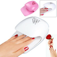USA Ship Portable Mini Dryer Fan Blower for Hand Toe Tips Nail DIY Art Polish