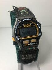 Vintage Timex Ironman Triathlon 8 Lap Women's Digital Watch Rare Retro Light