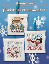 Christmas Ornaments V LFT362 by Stoney Creek cross stitch pattern