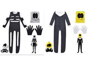 Friday Night Funkin FNF Cosplay Costume Skid Pump pullover Bodysuit Jumpsuit