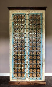 Indian Solid Mango Wood Almirah Cupboard/ Wardrobe, Furniture, Home Decor