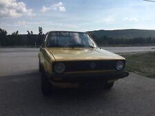 Volkswagen Golf 1  1.3 Benzin Bj 1982 52 Tkm