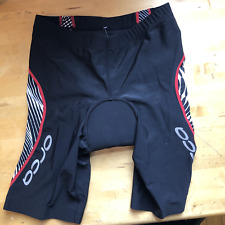Orca Tri Shorts padded men black small red