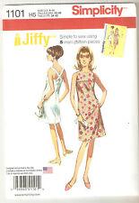 Simplicity Sewing Pattern 1101 / 0420 Miss Vintage Jiffy 1960's Dress Sz 6-14