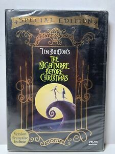 Tim Burton's The Nightmare Before Christmas Special Edition New Sealed Reg 1