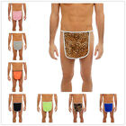 Saint Valentin Hommes Extensible Sexy Ouvert Mankini String Tablier Culotte