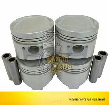 Piston Set Fits Dodge Mitsubishi Colt Mighty Max 2.0 L G63B, 4G63 SOHC