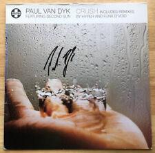 "PAUL VAN DYK SIGNED AUTOGRAPHED CRUSH 12"" VINYL RECORD! EDM DJ TRANCE LEGEND"