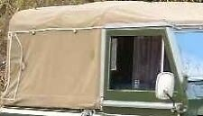 NEW 88 Series 2+3 Full Land Rover Canvas Hood Rear window only (Black)