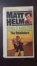 """Donald Hamilton, """"Retaliators,"""" 1976, Fawcett Gold Medal 3567-5, VG-, 1st"""