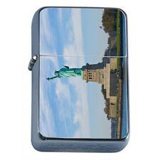 Famous Landmarks D9 Windproof Dual Flame Torch Lighter Statue of Liberty NYC