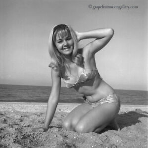 Bunny Yeager 1967 Pin-up Camera Negative Photograph First Time Bathing Beauty