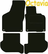 Skoda Octavia DELUXE QUALITY Tailored mats 2008 2009 2010 2011 2012 2013