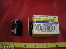 Square D 9999R22 Electrical Interlock N.O. with Slip on Connectors 9999 R-22 Nos