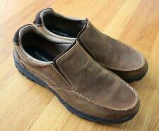 Men's Skechers RAYLAND 64502CDB Dark Brown Slip-On Boot Shoes Size 14