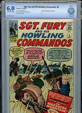 Sgt. Fury and His Howling Commandos #3 1964 Silver Age Marvel Comics CBCS 6.0